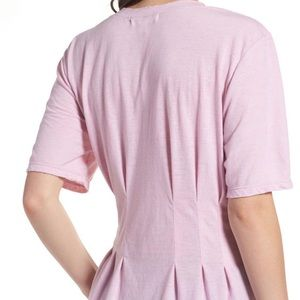 Treasure & Bond fitted pink t-shirt